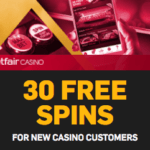 Betfair Casino 30 free spins keep what you win